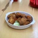Prawn Paste Chicken aka Har Cheong Gai  ($8)