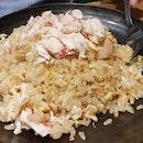 #crabmeat #friedrice #japanesefriedrice