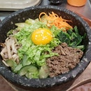 #dolsot bibimbap $13.80 at Hyangtogol MBS.