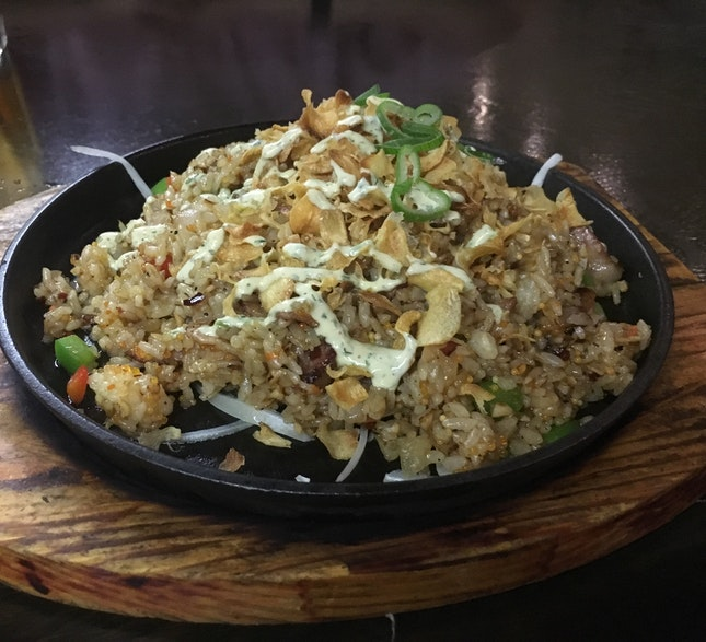 Sizzling Garlic Fried Rice