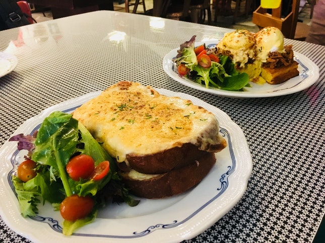 Croque Monsieur & Egg Benedict