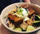 Pork Belly Miso Grain Bowl