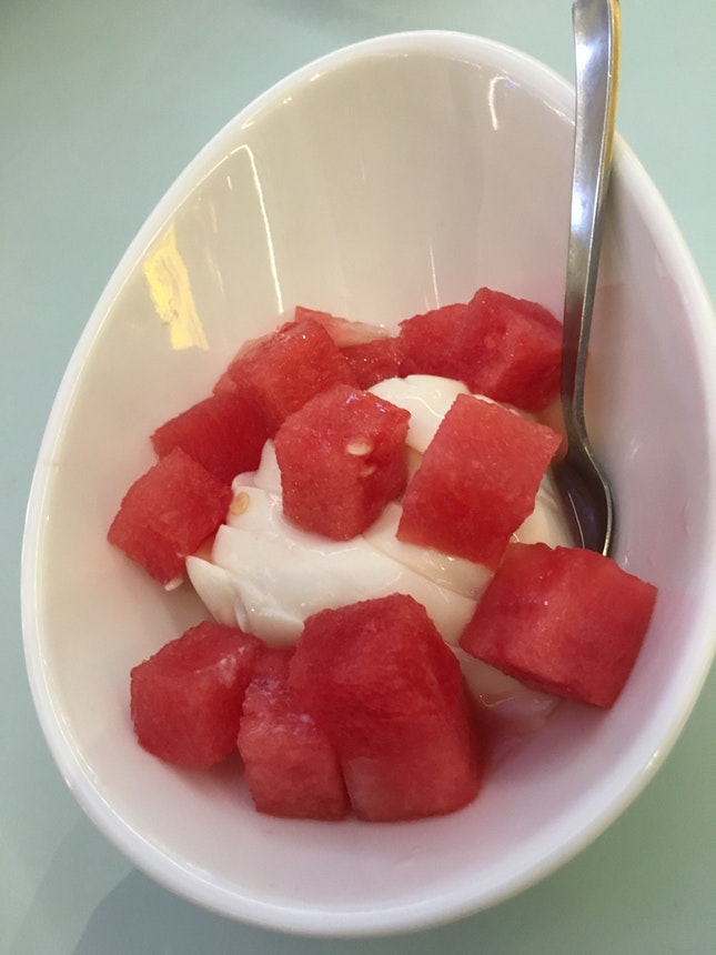 Bean Curd With Watermelon