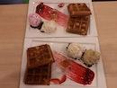 Waffles Double Scoop Ice Cream