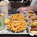 Burger, Fries, Shakes