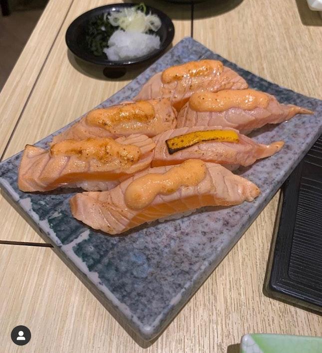 Sushi, Soba, Croquette