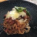 PS. Spaghettini Bolognese