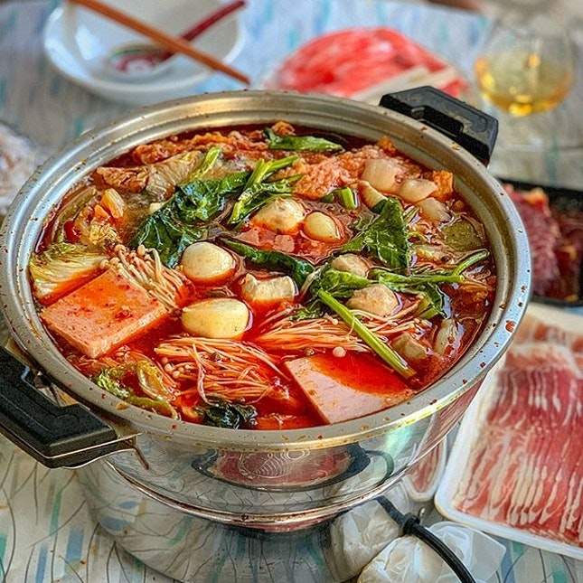 Homemade mala hotpot is ❤️