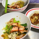 100 Baht for a bowl of their wonton noodles, or braised pork rice.