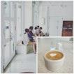 Minimalist Cafe In Lavender
