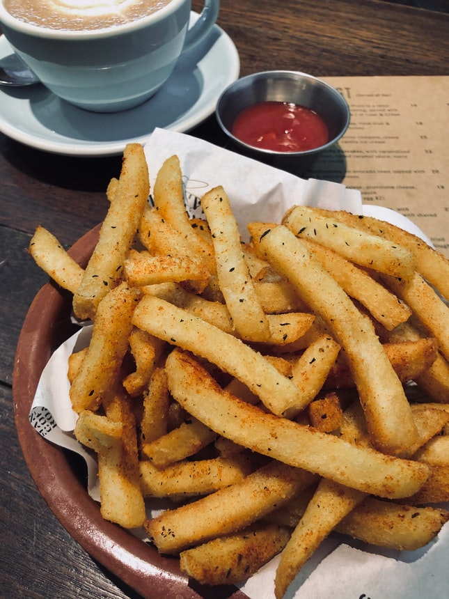 Herbed Fries ($10++)