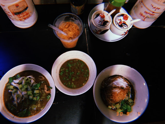Spicy Boat Noodles