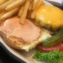 All American Burger $22++