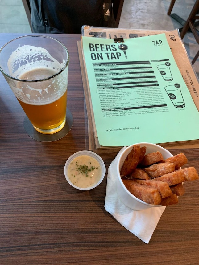 Came for the Beers, Stayed for the Beers (and Spam Fries)