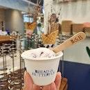 ice cream/orchard