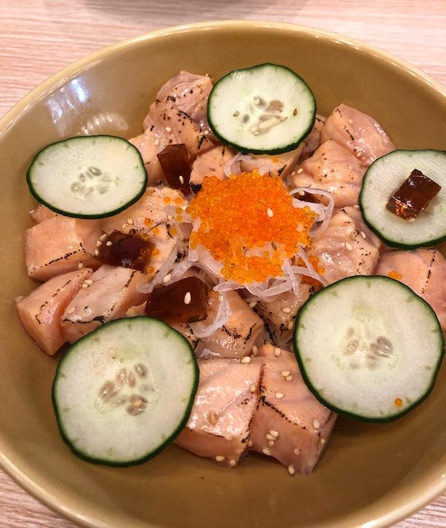 Salmon Aburi Bowl($13)