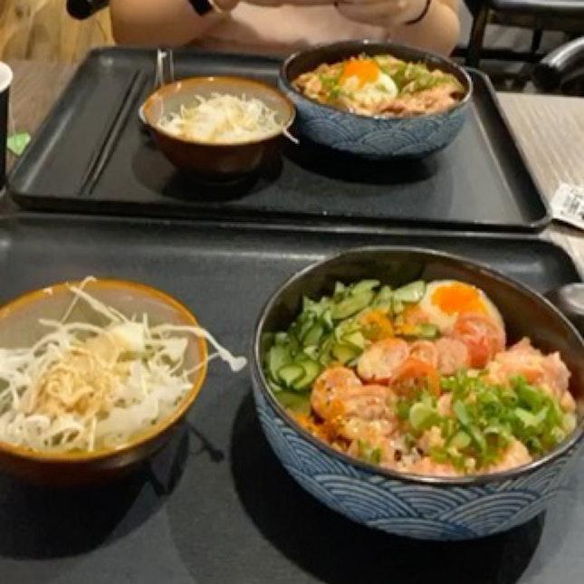 Try the Salmon Mentaiko!