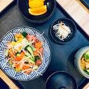 Bara Chirashi Lunch Set ($15.80)