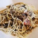 Truffle Carbonara ($24)