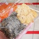 Mixed Muah Chee ($3.50)