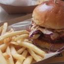 Fried Chicken Burger ($5.50)