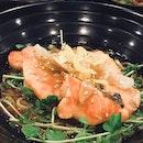 Value for money Yuzu-Miso Salmon Soba
