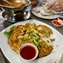 Prawn Omelette ($10 nett)