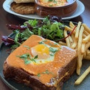 Croque Madame + Oven Baked Eggs