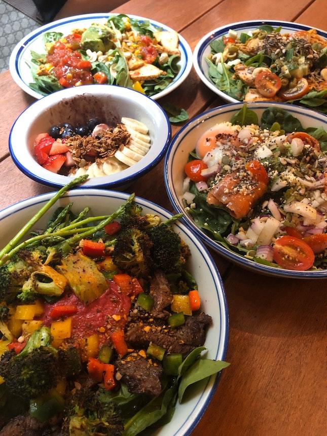 Hearty salads