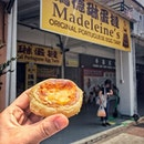 """Welcome to Singapore, Day 9"" ・ 📌Madeleine's Original Portuguese Egg Tart ・ We found a good Portuguese egg tart at Tanjong Katong."