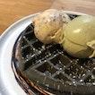 Charcoal Waffle + Brownies & Baileys + Pistachio