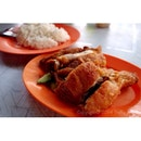 One of my fav fried chicken rice 🍗 @ Segambut Fried Chicken Rice