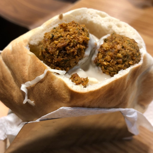 Without A Doubt The Best Falafel In Town