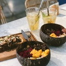 Smoothie Bowls, Open-Face toast And Cold Brew Tea