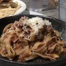 Pulled Pork Fettuccine