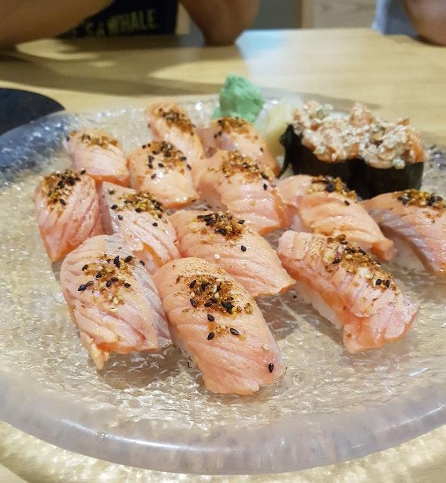 Aburi Salmon Sushi ($0.80 Each)
