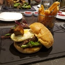 Wagyu Beef Burger With Foie Gras ($28 + $10 For Foie Gras)