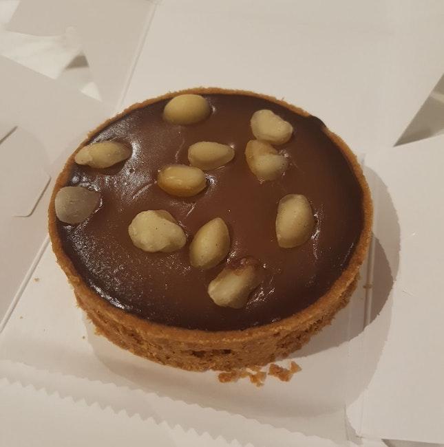 Macadamia Chocolate Tart ($8.80)