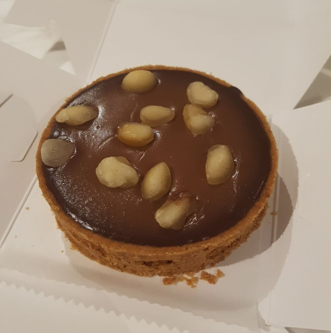 Macadamia Chocolate Tart ($8.80)