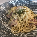 Bacon Carbonara ($13.80)