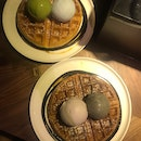 Double Scoops With Waffles ($27.40)