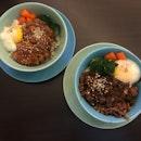 Smoked Duck And Teriyaki Beef Bowl ($8.50)