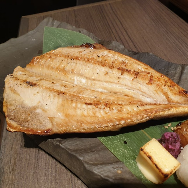Charcoal Grilled Dry Atka Mackerel Set, $14.90