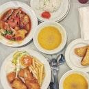 Some basic food at Han's.