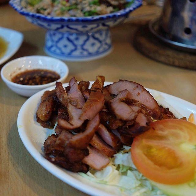 Grilled Pork Neck ($10) .