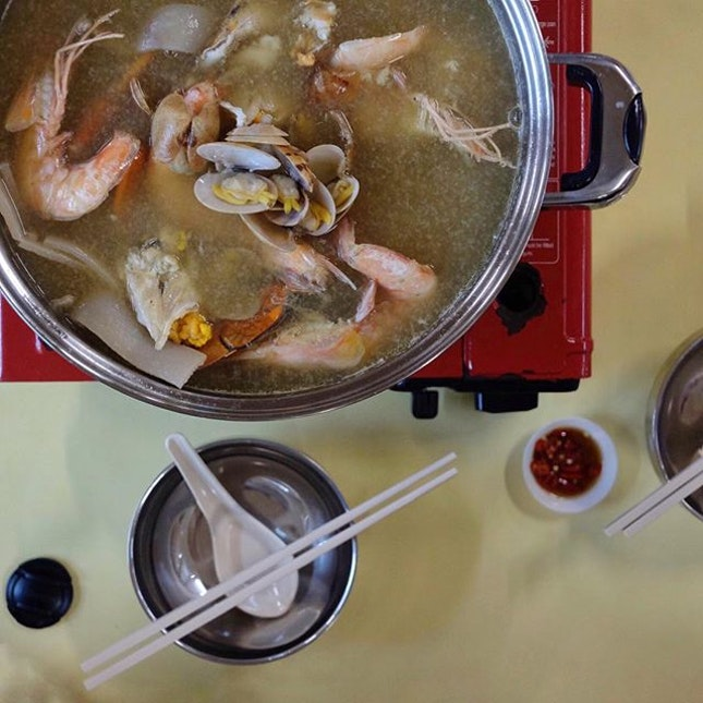 Seafood Steamboat .