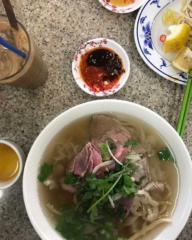 The best pho we had in Melbourne.