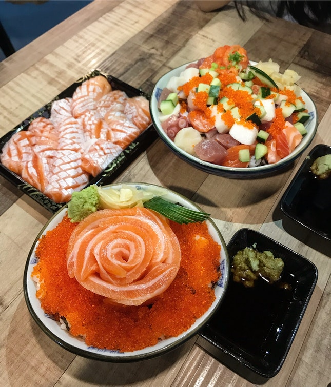 Sashimi cravings satisfied!