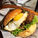 Buttermilk chicken burger