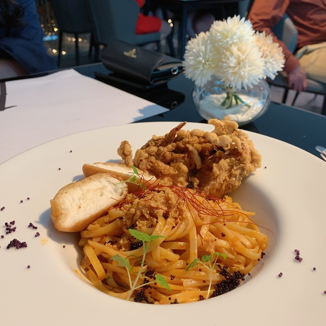 Chilie Crab Pasta (24.90)